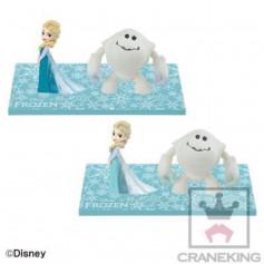 Banpresto Disney Characters Mega WCF Story - Frozen - La Reine des Neiges - Elsa et Marshmallow