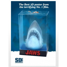 SD Toys - JAWS 3D Movie Poster Diorama