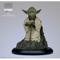"Attakus Star Wars Statue Yoda ""Using the Force"" 1/5"