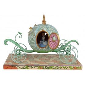 Enesco Disney Traditions - Cendrillon Carosse Enchanté - Pumpkin Coach with Cinderella