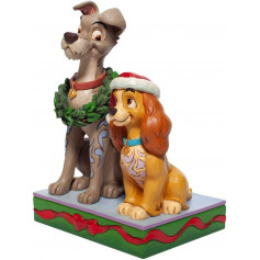 Disney Tradition La Belle et le Clochard - Christmas Lady & Tramp