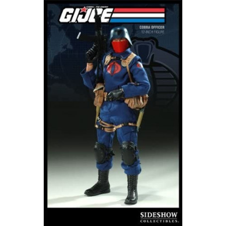 Sideshow Gi Joe - The Enemy - COBRA OFFICER 1/6 - OCCASION