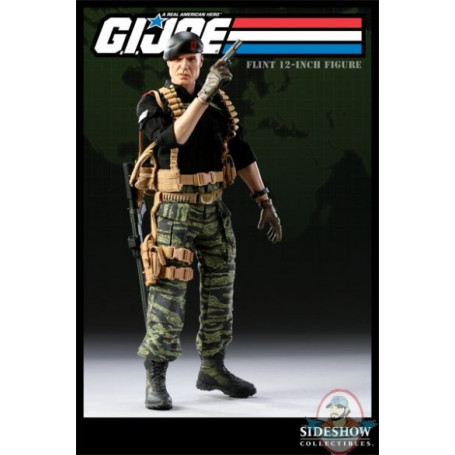 Sideshow Gi Joe - Warrant Officer - FLINT 1/6 - OCCASION