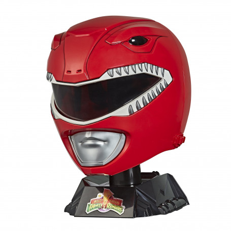 Hasbro - Casque Red Ranger 1:1 - Mighty Morphin Power Rangers Lightning Collection - Edition Collector