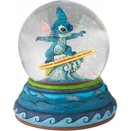 Enesco Disney Lilo & Stitch - Boule à neige - Waterglobe - Snowglobe