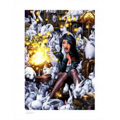 DC Comics impression - Art Print Zatanna by Jay Anacleto - 46 x 61 cm - non encadrée