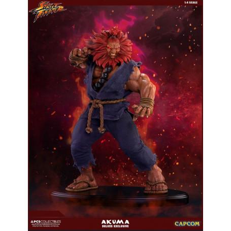 Pop Culture Shock Street Fighter - Akuma Deluxe Exclusive - 1/4 - 45cm