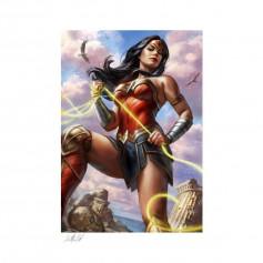 DC Comics impression - Art Print Wonder Woman - 46 x 61 cm - non encadrée