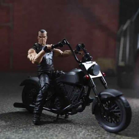 Marvel Legends - Punisher et sa moto