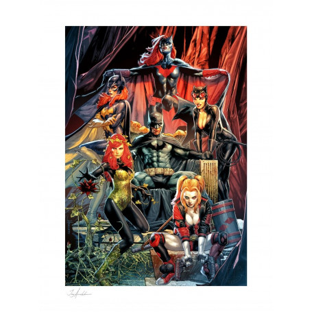 DC Comics impression - Art Print Batman: Detective Comics 1000 by Jay Anacleto - 46 x 61 cm - non encadrée