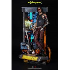Pure Arts - Johnny Silverhand 1/4 Statue - Cyberpunk 2077