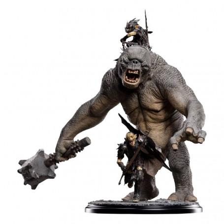 Weta - Cave troll of moria - Le Seigneur des Anneaux statuette 1/6