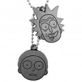 Abysse Corp - Rick & Morty - Collier pendentif Visages - Faces