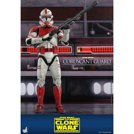 Hot Toys Star Wars - Coruscant Guard - The Clone Wars 1/6
