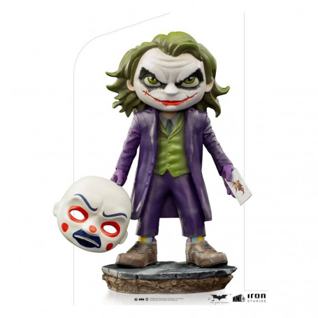 Iron Studios - Joker The Dark Knight - Mini Co.Heroes PVC