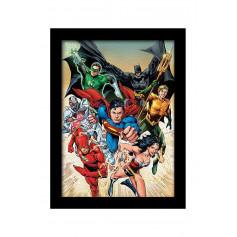 Poster encadré Justice League