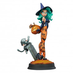 Sideshow - Pumpkin Witch by Chris Sanders - Happy HallowQueens Collection