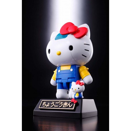 Bandai Soul of Chogokin - HELLO KITTY ROBOT BLUE VERSION