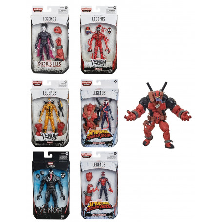 Marvel Legends - Venompool Wave - Serie complete de 6 figurines