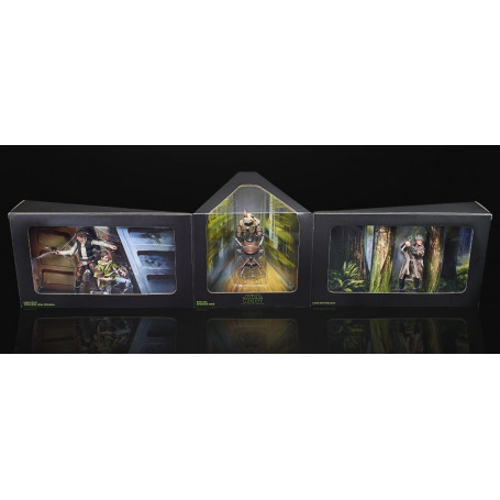 Hasbro Star Wars Pulse Con - Heroes of Endor - Black Series