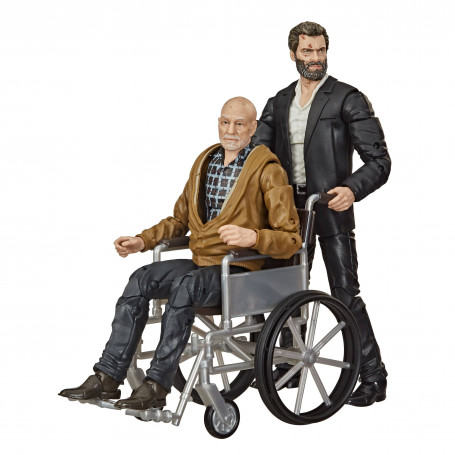 Hasbro - Marvel Legends - LOGAN & CHARLES XAVIER EXCLUSIVE - PACK 2 FIGURINES X-MEN