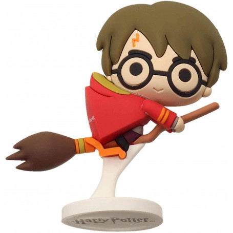 SD Toys - Mini Figurine en Caoutchouc Harry Potter sur Nimbus 2000