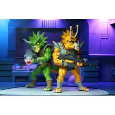 Neca - TMNT - Les Tortues Ninja - Pack Captain Zarax & Zork