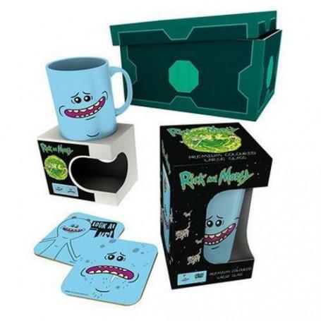 Boite cadeau Rick & Morty - meeseeks Poison Box Coasters