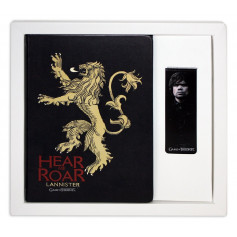 Game of Thrones - Cahier et Marque-Page - Lannister
