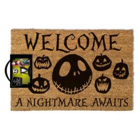 Paillasson Nightmare Before Christmas - 40X60 - A Nightmare Awaits