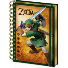 Le Légende De Zelda - Nintendo 3D Lenticulaire Cahier A5