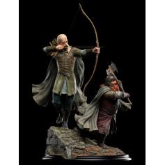 Weta - Legolas et Gimli at Amon Hen - Le Seigneur des Anneaux statuette 1/6