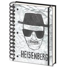 Breaking Bad - Cahier A5 - Heinsenberg Wanted