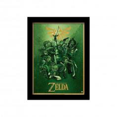 Poster encadré Zelda