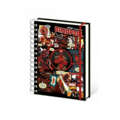 Marvel Cahier A5 Deadpool Comic Images