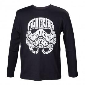 Star Wars - T-shirt enfant - Stormtrooper Calligraphie 110-116