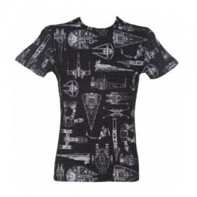 Star Wars - T-shirt Homme - Vaisseaux et Véhicules XXL