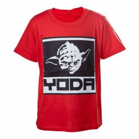 Star Wars - T-shirt pour enfant - Red Yoda