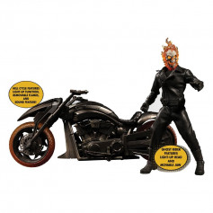 Mezco One 12 - Ghost Rider & Hell Cycle - Marvel figurine 1/12