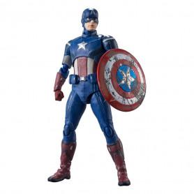 Bandai/Tamashii - Marvel - Avengers Assemble CAPTAIN AMERICA - SH Figuarts SHF