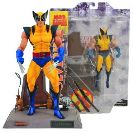 Marvel Select figurine X-Men Wolverine Jaune