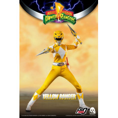 Three 0 - Yellow Ranger - Mighty Morphin Power Rangers FigZero 1/6