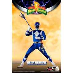 Three 0 - Blue Ranger - Mighty Morphin Power Rangers FigZero 1/6