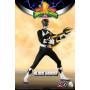 Three 0 - Black Ranger - Mighty Morphin Power Rangers FigZero 1/6