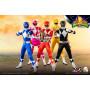 Three 0 - Pack - Mighty Morphin Power Rangers FigZero 1/6
