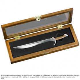 Le Hobbit coupe-papier épée de Thorin Écu-de-chêne Orcrist 23 cm
