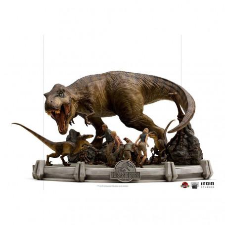 Iron Studios - Jurassic Park Demi Art Scale The Final Scene - 1/20