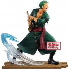 Banpresto - ONE Piece Log File Selection-Fight-vol.1 Zoro Roronoa