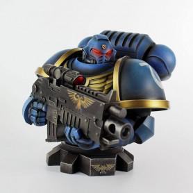Semic - Warhammer 40k - Buste Ultra Marine Primaris 1/6