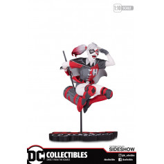 DC Direct Harley Quinn Red Black and white by Guillem March